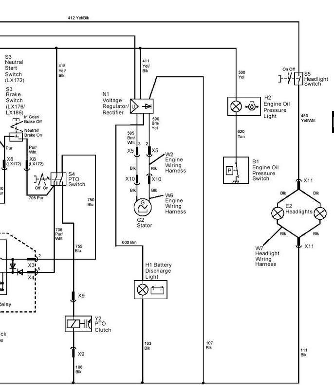 John Deere Lx176 Pto Switch Wiring Diagram