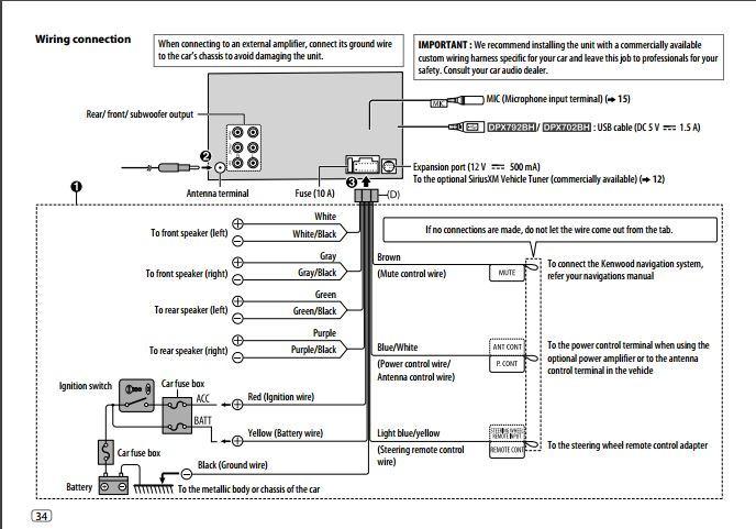Kenwood Dnx9140 Wiring Diagram - Wiring Diagram Generalkenwood ... on