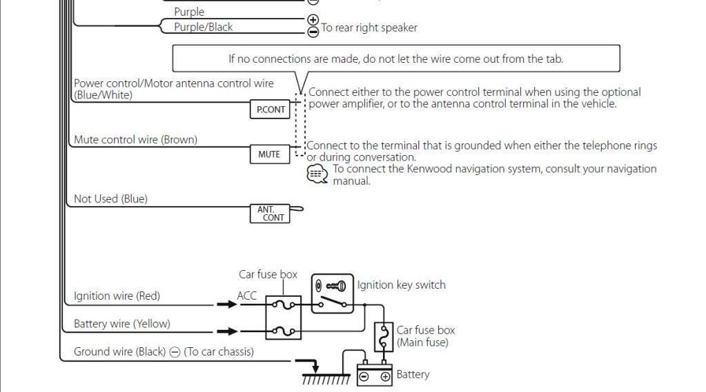 Kenwood Kdc 258u Wiring Diagram Wiring Schematic Diagram