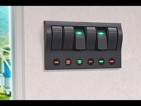 Marpac Marine 3 Gang Fused Switch Panel Wiring Diagram