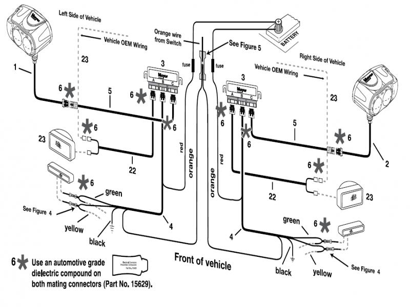 Meyers Snow Plow Lights Wiring Diagram