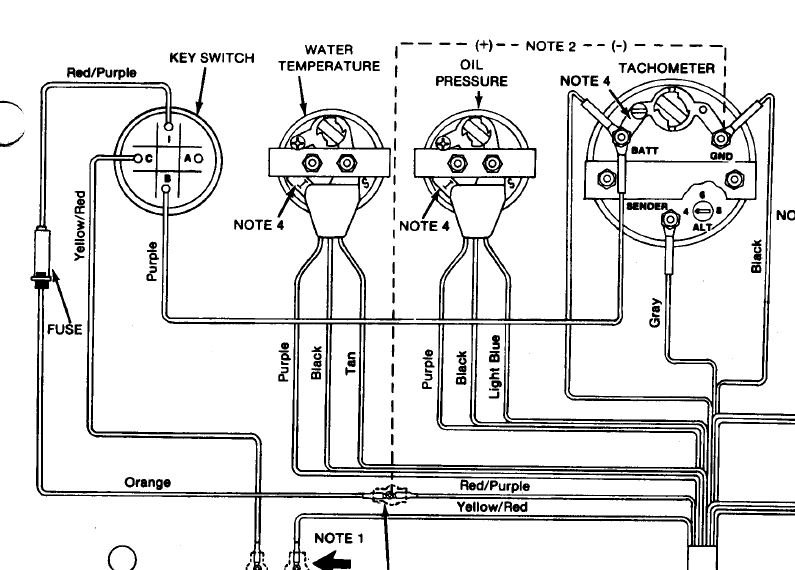 Omc System Check Tach Wiring Diagram