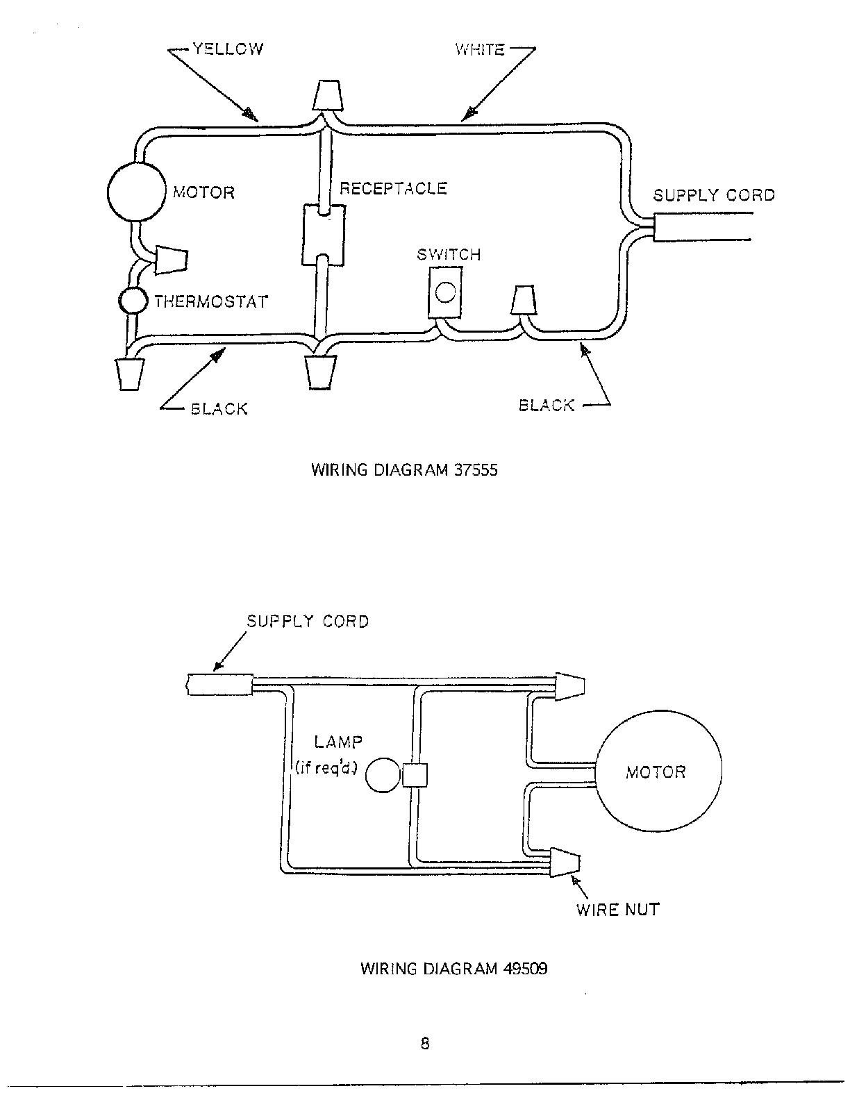oreck vac wiring diagrams
