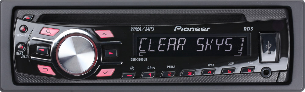 Pioneer Deh-3300ub Wiring Diagram