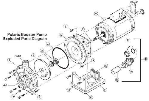 polaris pb 4 booster pump wiring