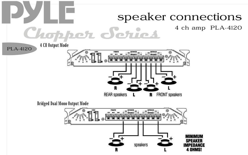 Pyle Hydra Amp Wiring Diagram