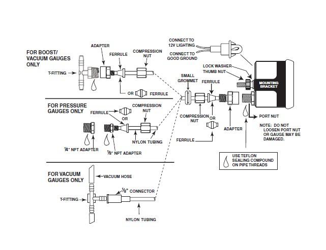 Saas Volt Gauge Wiring Diagram
