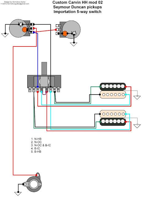 Schaller Megaswitch E Wiring Diagram