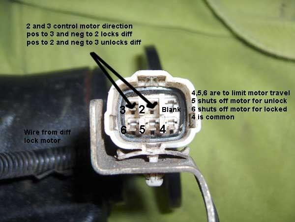 Tacoma E Locker Wiring Diagram