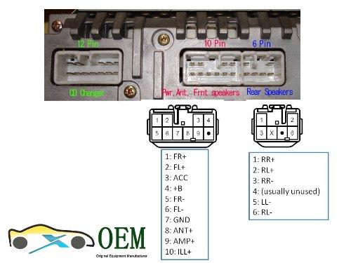 Toyota Sienna 2004 Jbl Stereo 10 Speakers Wiring Diagram