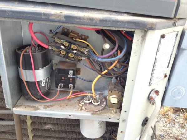Trane Xr11 Capacitor Wiring Diagram