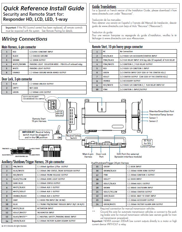 Viper 5000 Wiring Diagram Wiring Diagram