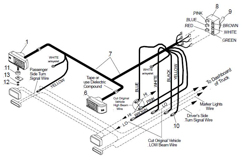 wiring diagram spdt rib