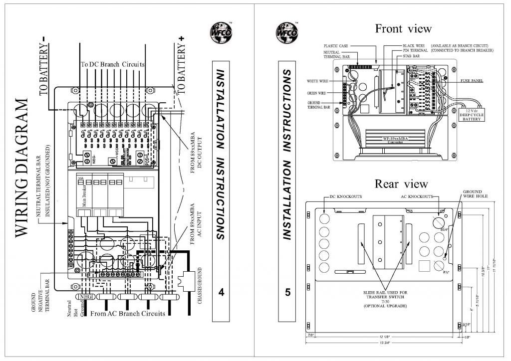 Wfco Wf-8712 Wiring Diagram
