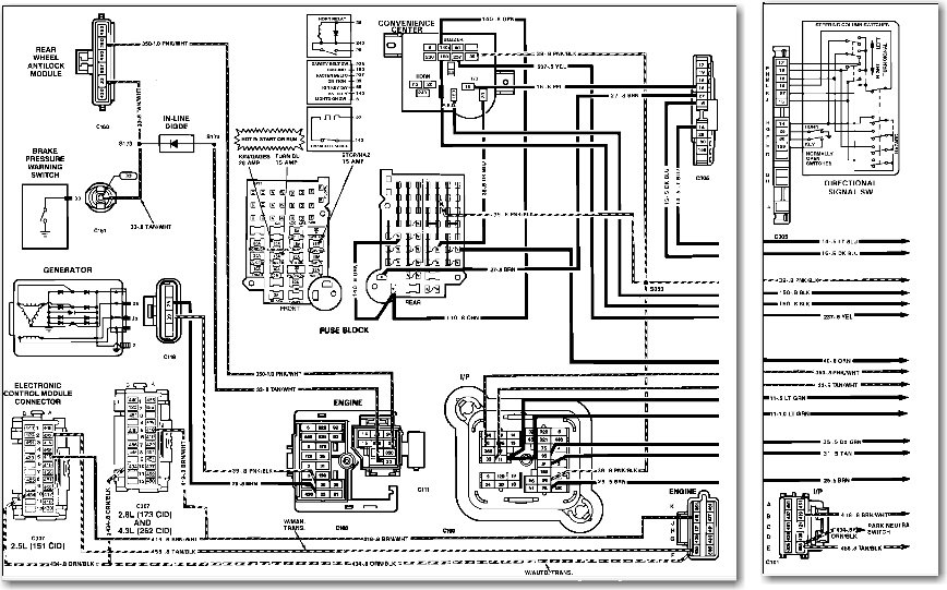 Wiring Diagram For 1990 Gmc G3500