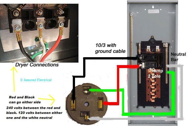 Wiring Diagram For 50amp 220volt Outlet