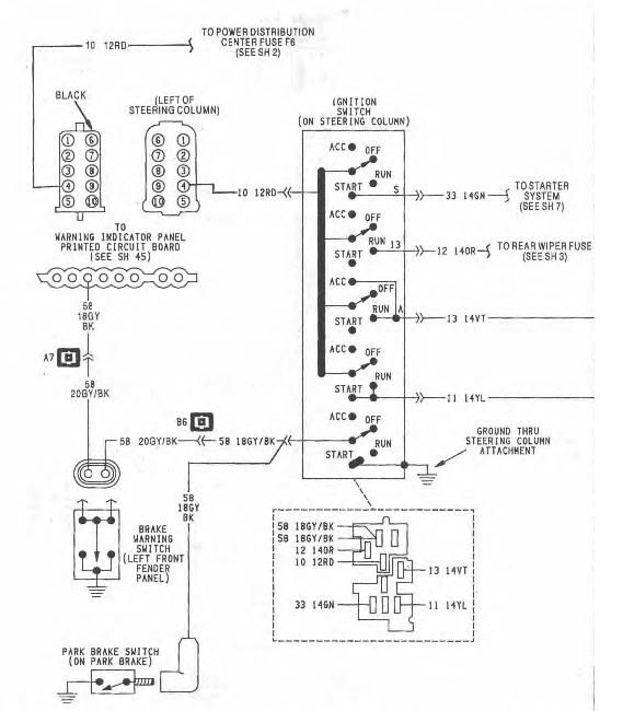 1990 Jeep Cherokee Ignition Wiring Wiring Diagram 2019
