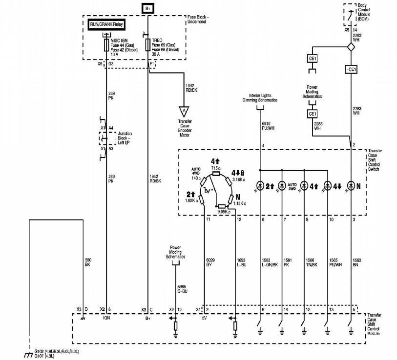 Wiring Diagram For A Brake Controller On A 20003 Chevy 2500 Silverado