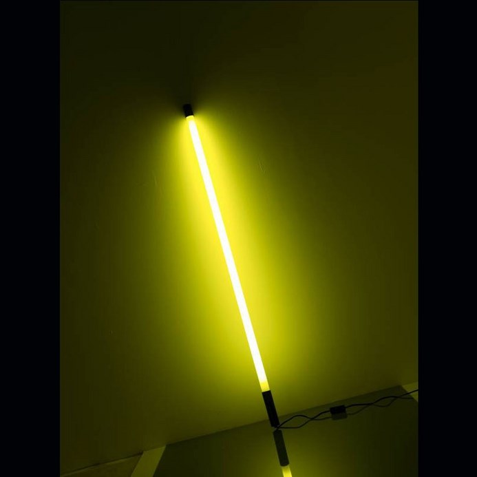 Led Rouge Tube NÉon DÉco Jaune 134cm