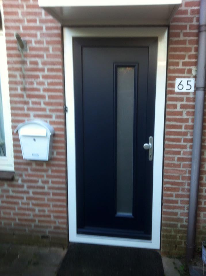 Kunststof Voordeuren Van Alku En Weru Bij Scheurwater
