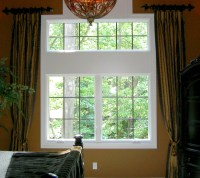 home window treatments 2017 - Grasscloth Wallpaper