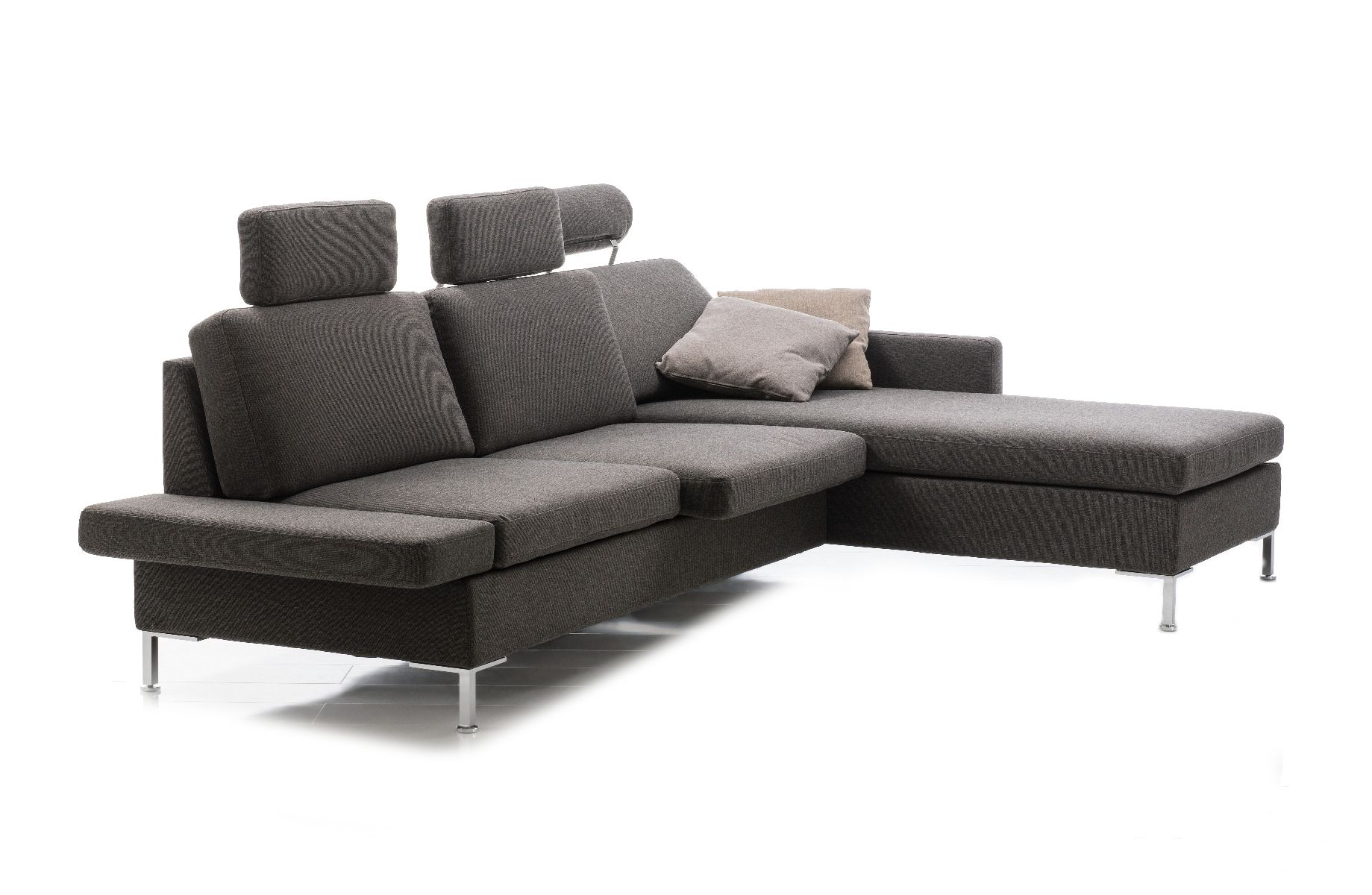 Ecksofa Minimalistisch Alba All In One Ecksofa