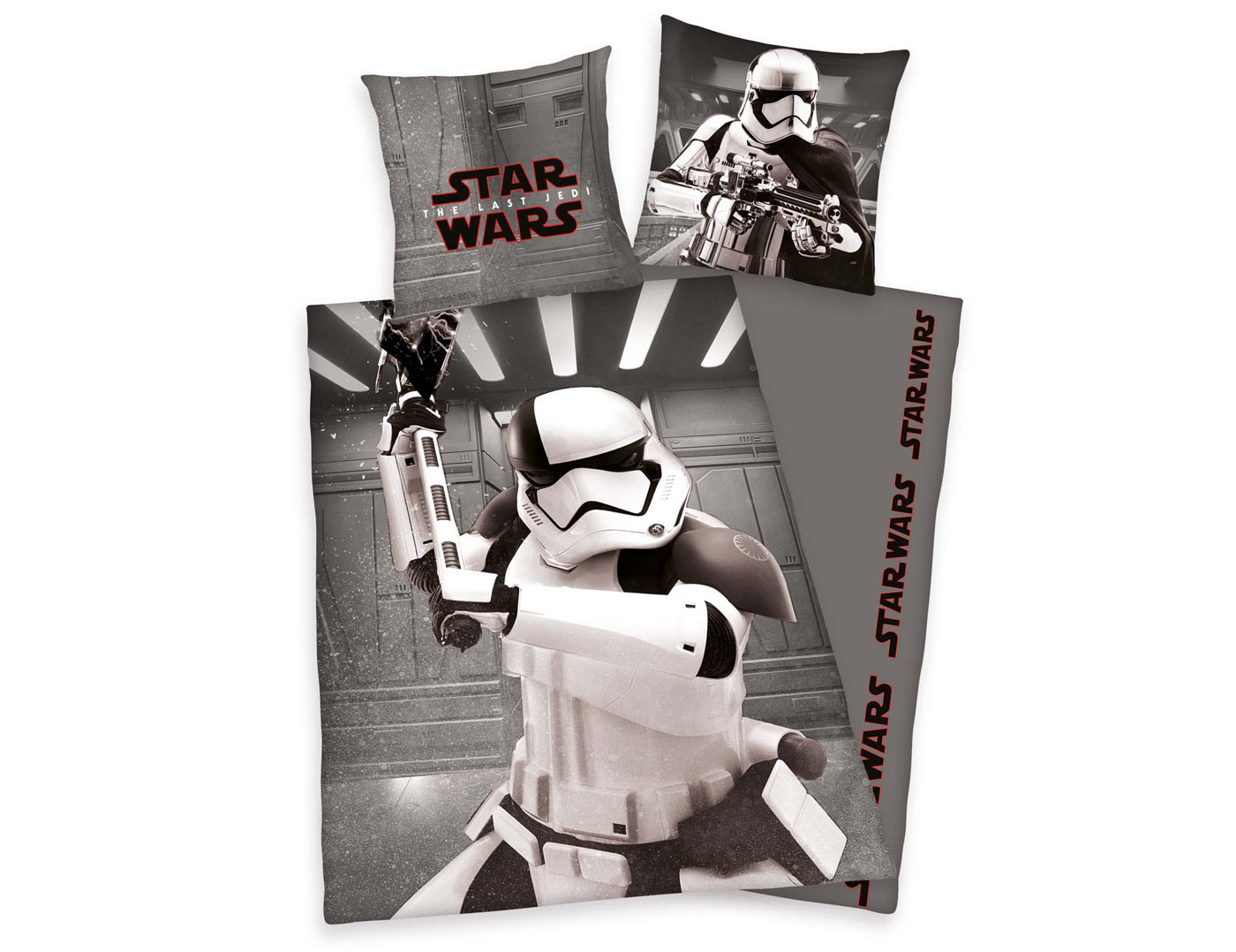 Bettwäsche Starwars Herding Bettwäsche Star Wars First Order Stormtrooper