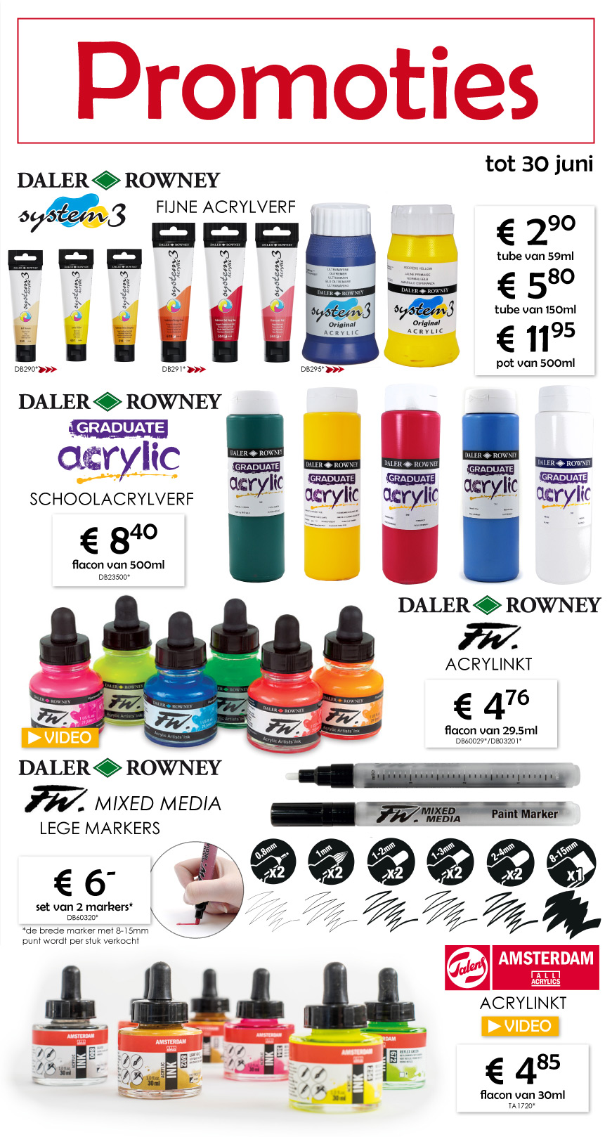 Amsterdam Acrylverf 500 Ml Newsletter