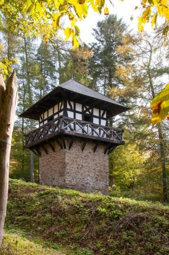 Römerturm-mit-Palisadenwand