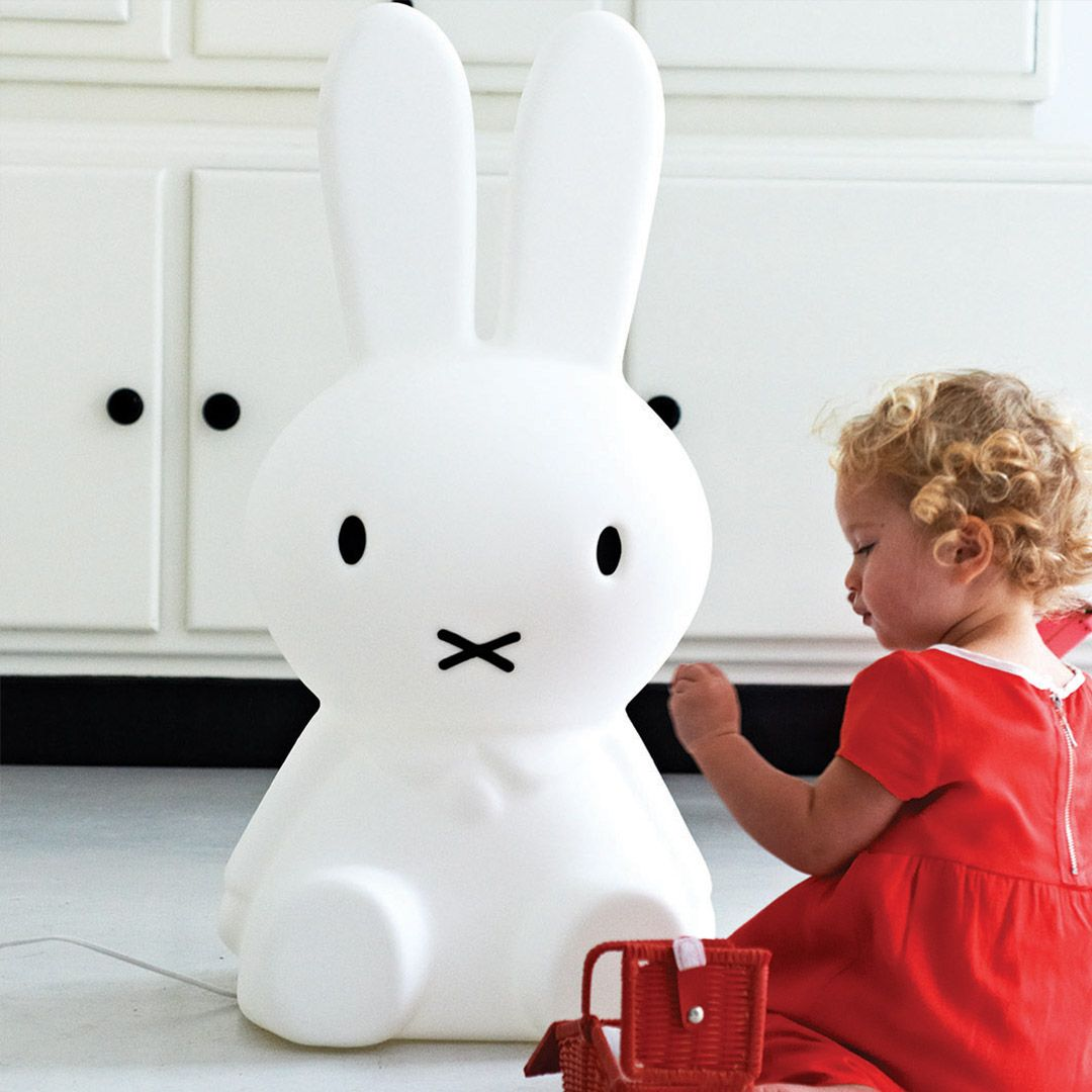 Mrmaria Miffy Xl Dimmbare Led Lampe 80cm By Schmatzepuffer Online Kaufen
