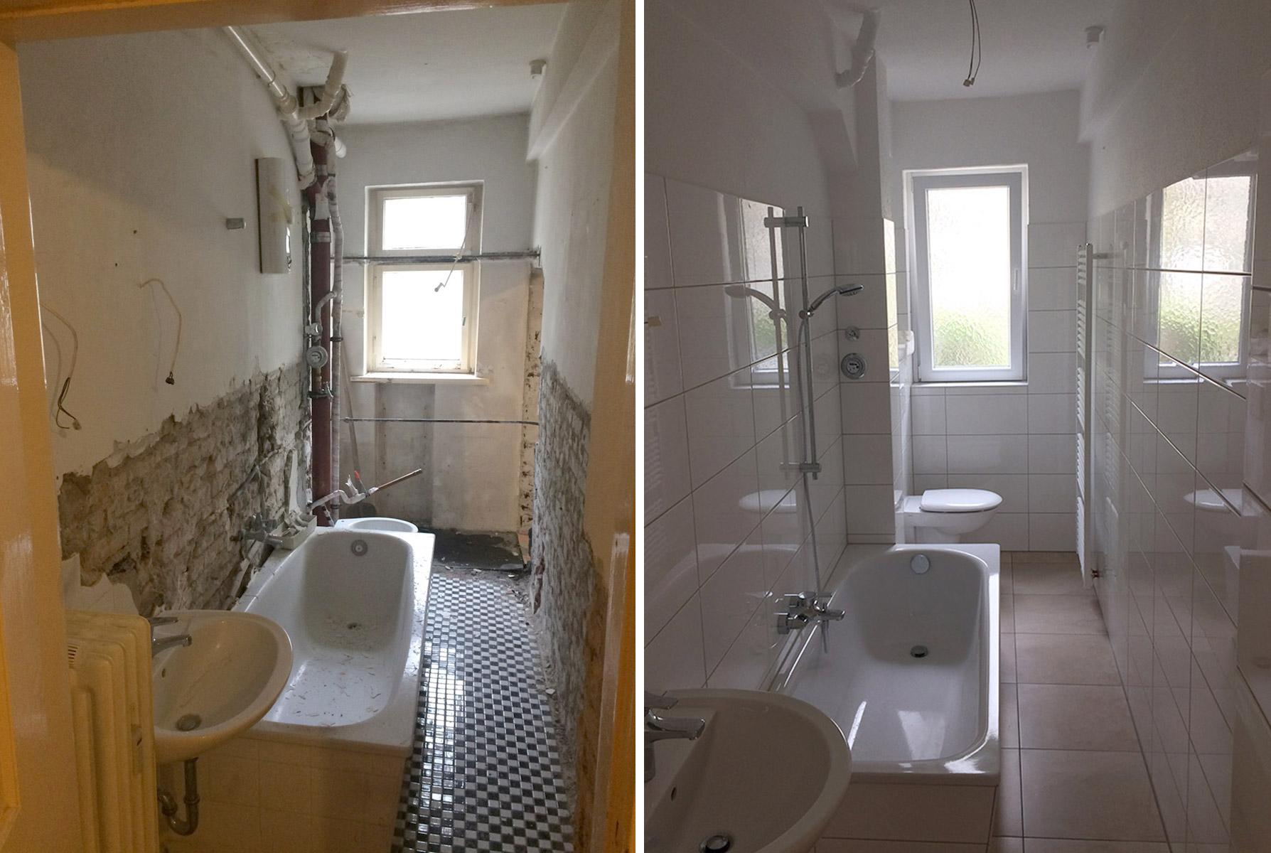 Kleines Badezimmer Renovieren Bilder