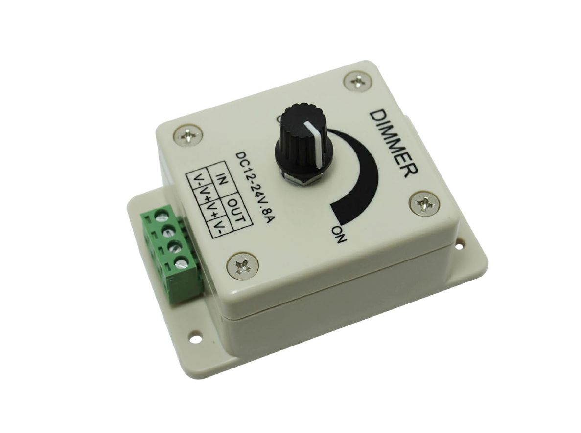 12v 8a Led Dimmer Für Led Stripes Lampen Module