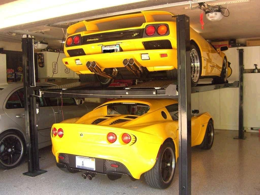 Garage Car Lift For Storage Car Lift For Storage In Garage Schmidt Gallery Design