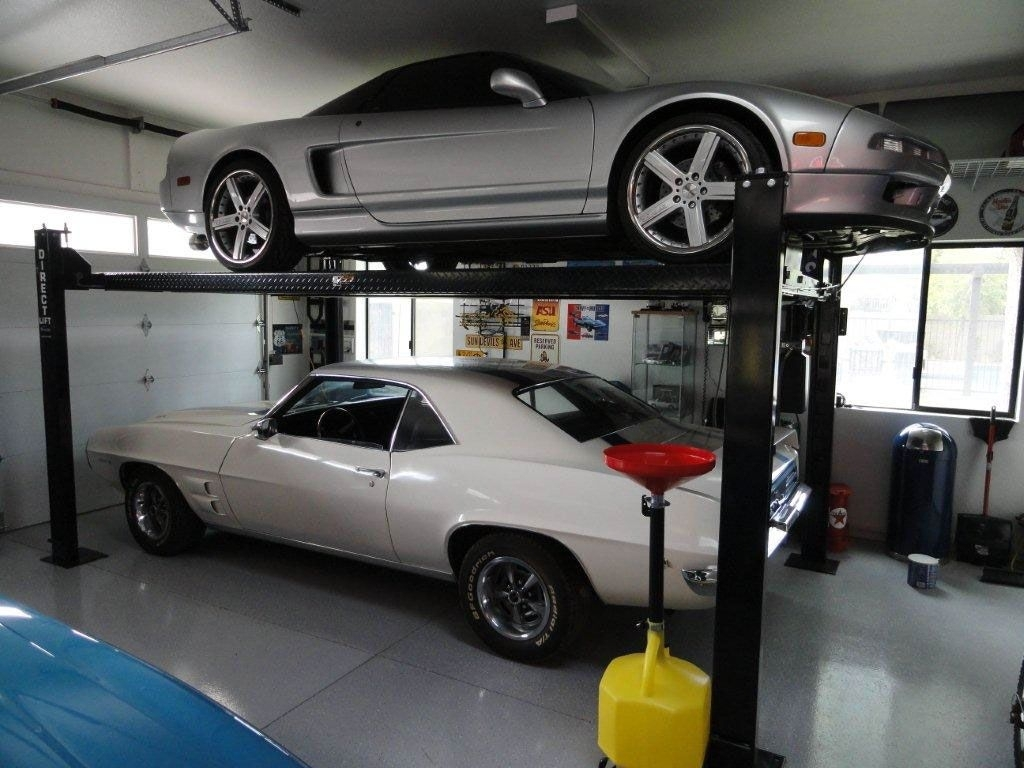 Car Lift In Garage Garage Buddy Car Lift Schmidt Gallery Design