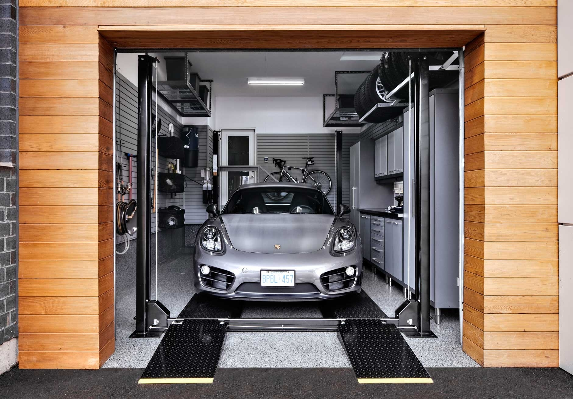 2 Post Car Lift For Home Garage Schmidt Gallery Design
