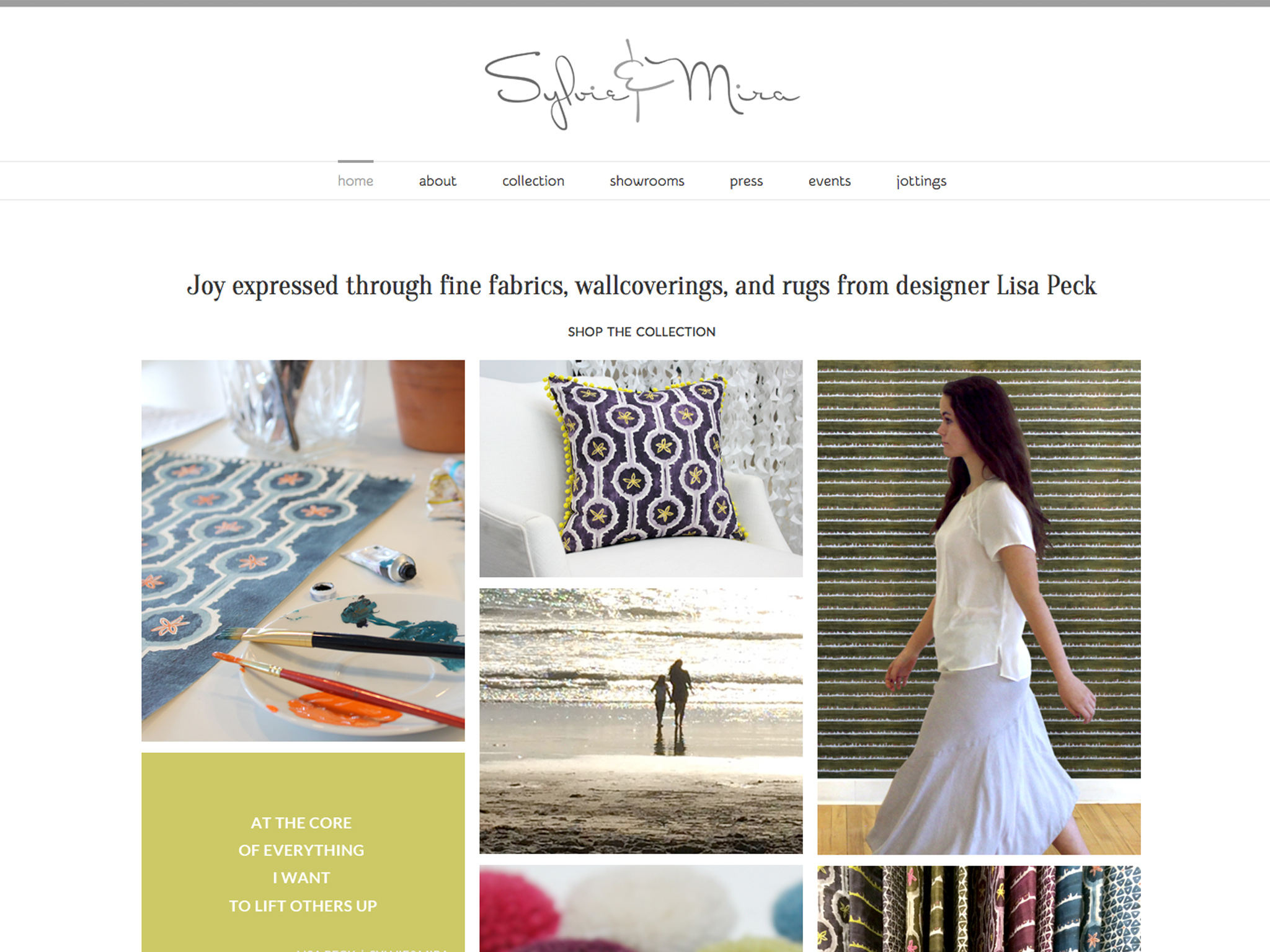 Home Decor Websites Sylvie Mira Home Decor Website Schmitt Creative
