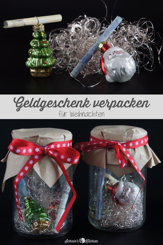 Geldgeschenke Für Weihnachten Originell Verpacken Gutscheine