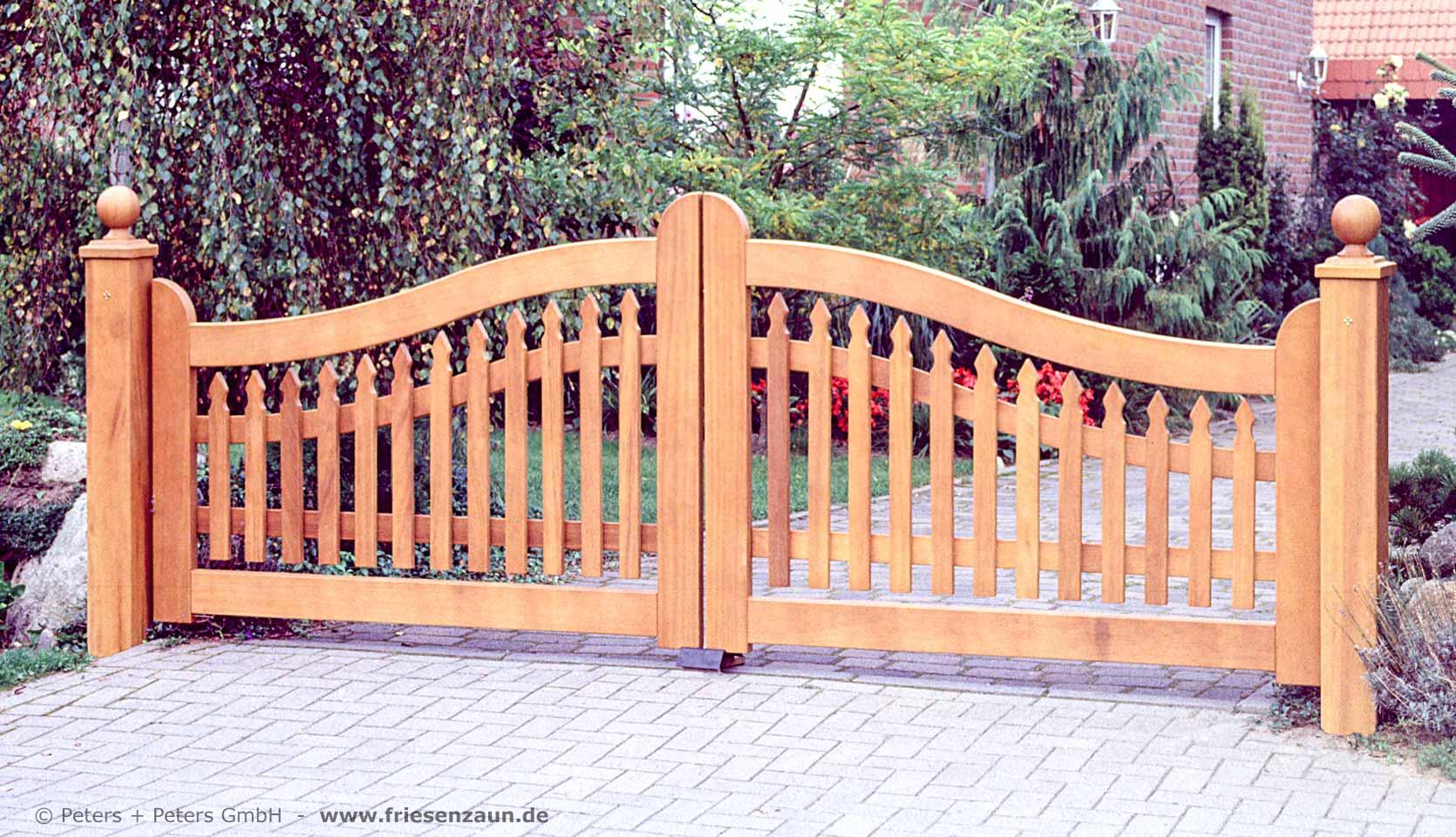Gartentor Holz Gartentore Aus Polen