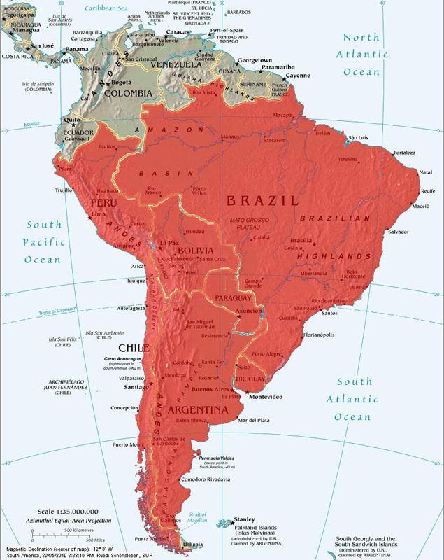 Susi  Ruedi on tour; South America Journeys