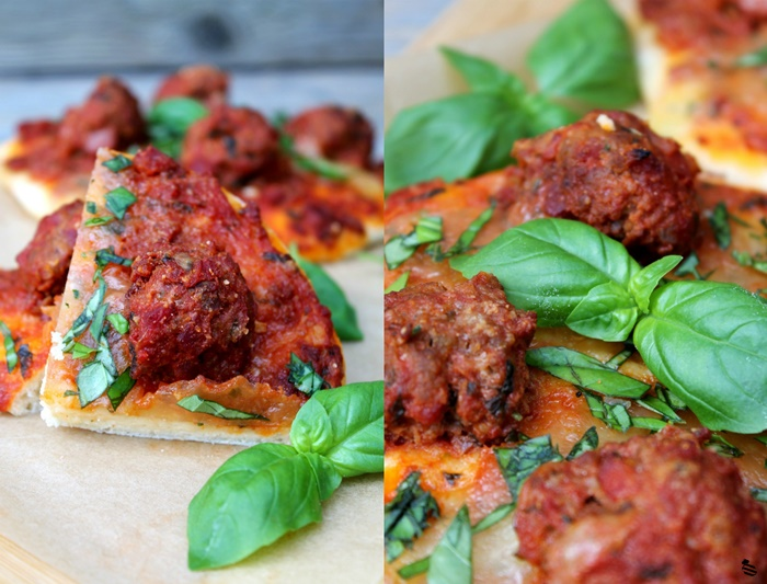 Meatball Pizza 3