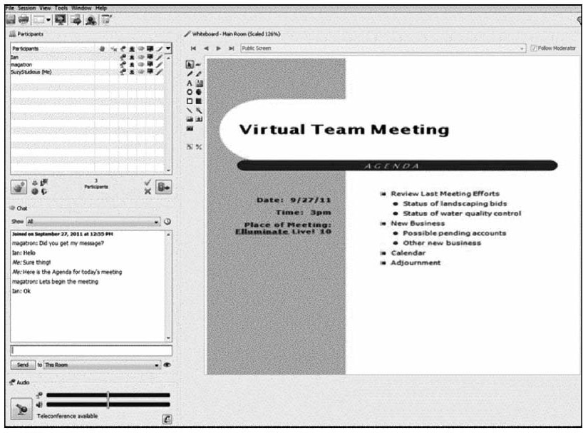 JOTS v37n2 - Leveraging Green Computing for Increased Viability and - collaboration meeting agenda