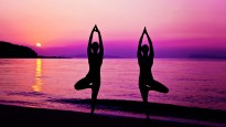 Yoga-Purple-Background