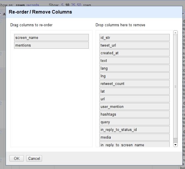 Re-order screen_name and mentions