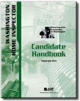 WASHINGTON HOME INSPECTOR Candidate Handbook