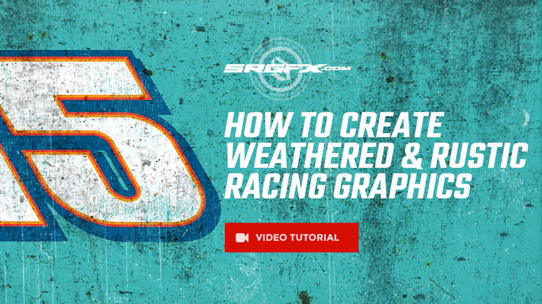 How to create weathered rustic racing wrap graphics School of - create graphics