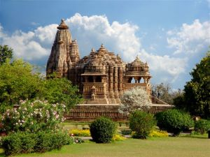 Khajuraho temple. India