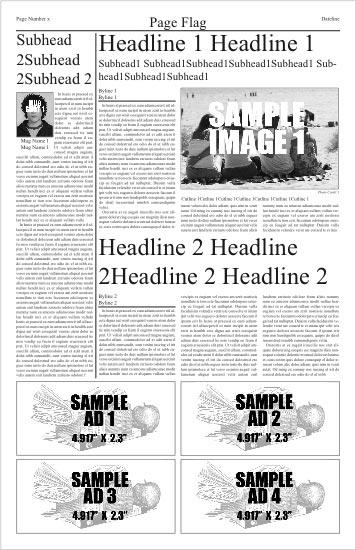 Newspaper Design Software-Free Online Newspaper Generator - online newspaper template