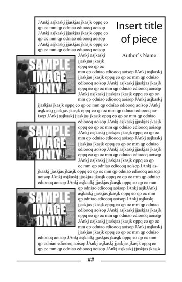 Free Indesign Templates for Booklet Size Publications - booklet templates