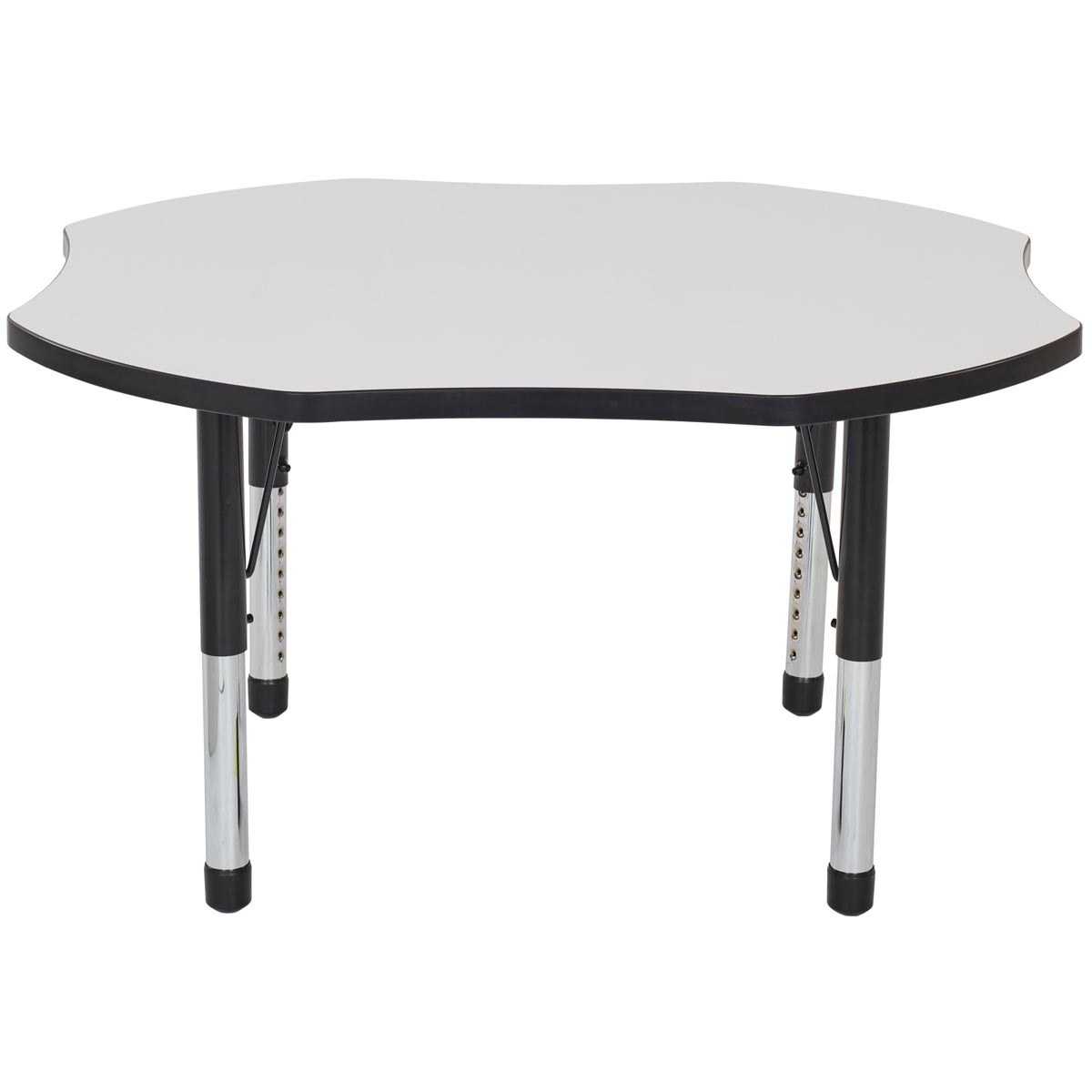 Adjustable Height Activity Table Clover Adjustable Height Whiteboard Activity Table