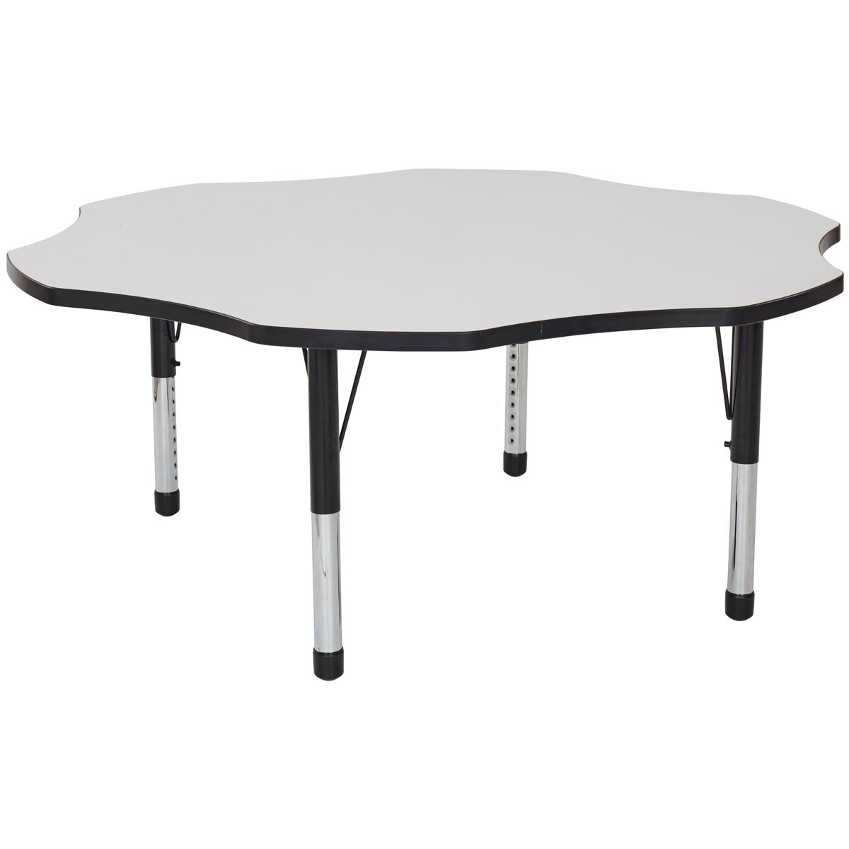Adjustable Height Activity Table Flower Adjustable Height Whiteboard Activity Table 60